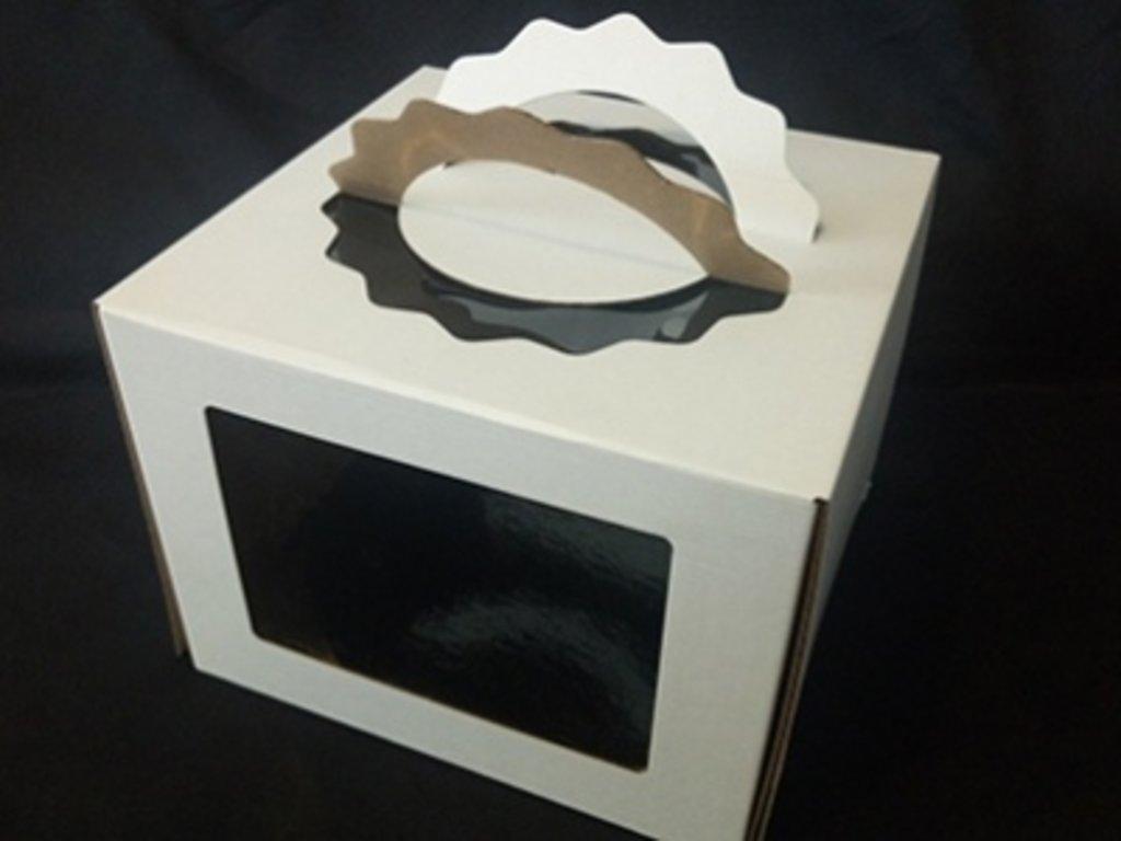 Упаковка: Коробка с ручками  260х260х200 в ТортExpress