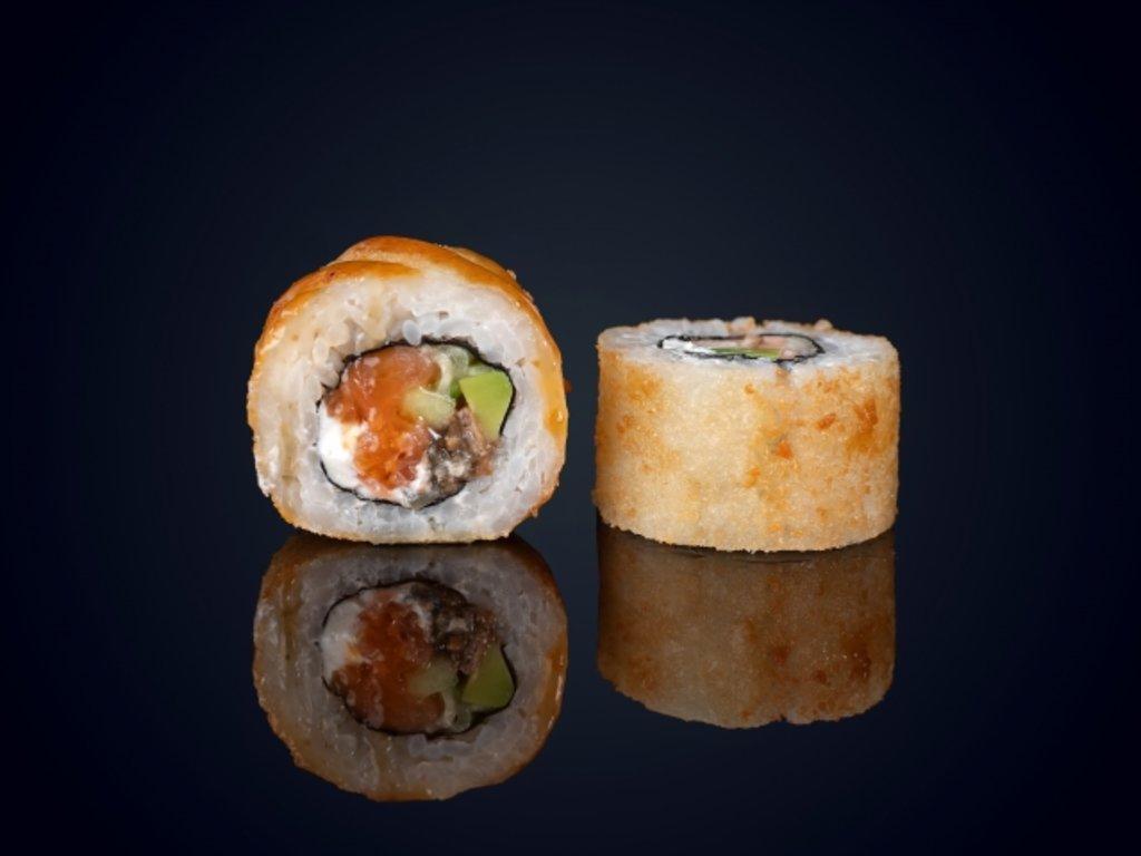 С угрем: Драгон темпура маки в МЭСИ суши&роллы