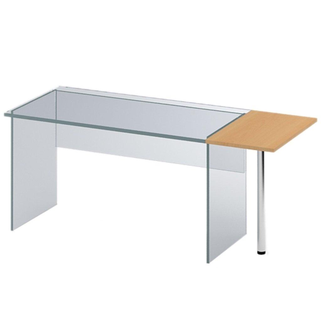 Офисная мебель столы, тумбы Р-16: Элемент приставной (16) 600*450*750 в АРТ-МЕБЕЛЬ НН