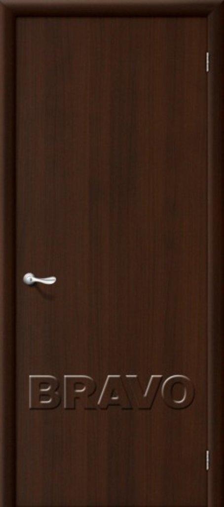 Двери ламинированные BRAVO: Гост Л-13 (Венге) в STEKLOMASTER