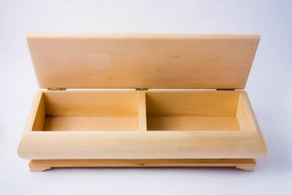 Шкатулки: Шкатулка плоская 2 секции ТАТ-57-01 в Шедевр, художественный салон