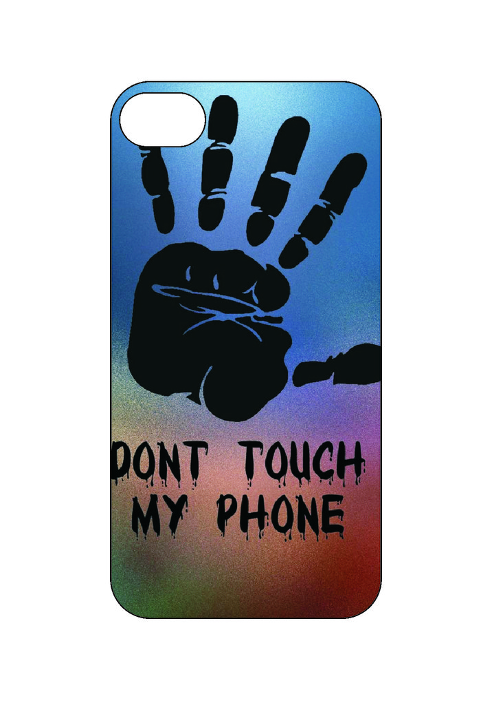 Выбери готовый дизайн для своей модели телефона: Не трогать мой телефон в NeoPlastic