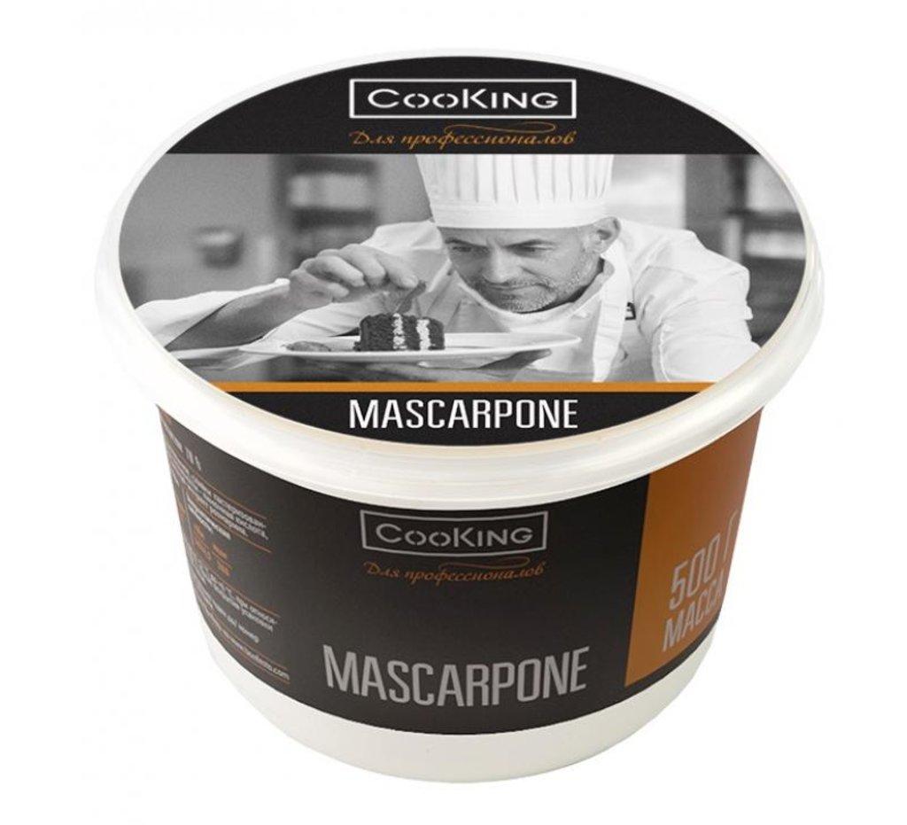Сыр: Сыр мягкий CooKING Маскарпоне 78% 500г в ТортExpress