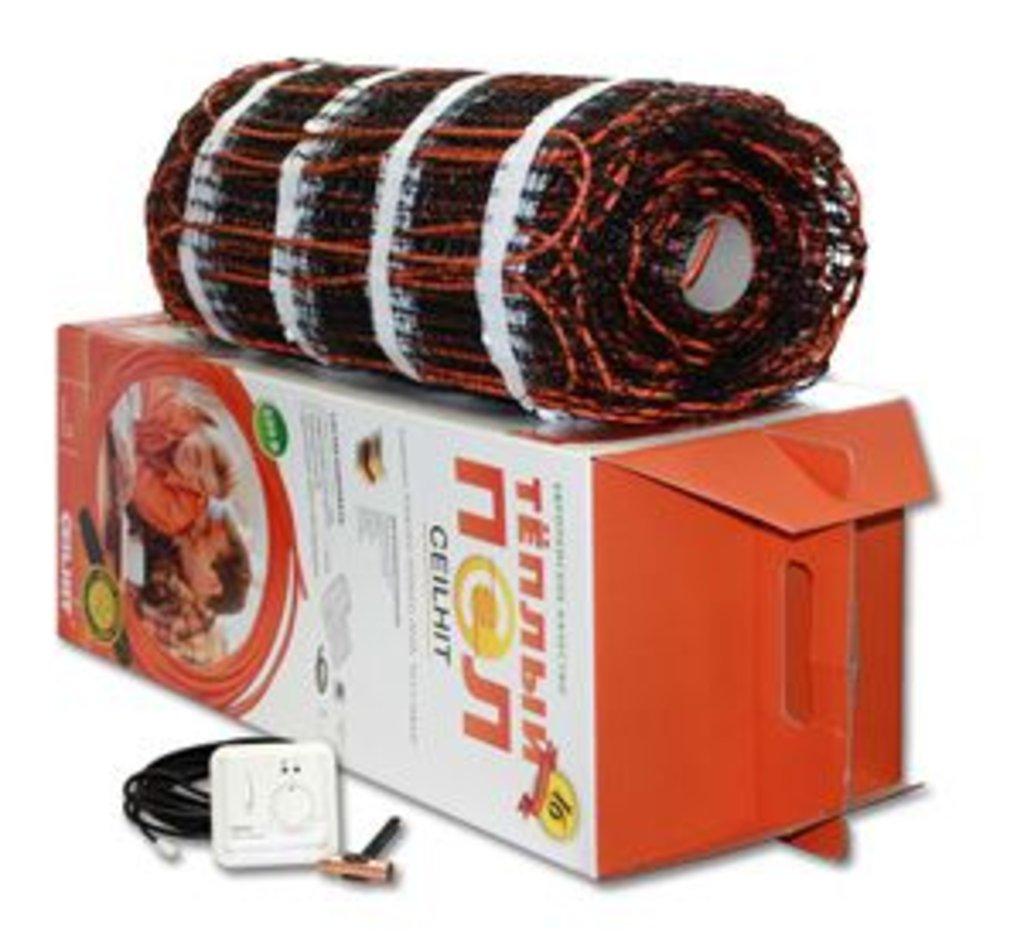 Маты нагревательные Ceilhit (Испания): MAT 22PSVD/180-1490 (U=220В - 1490) S=8.1 м² в Теплолюкс-К, инженерная компания