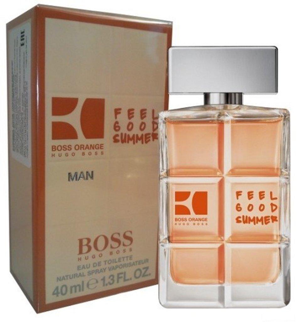 Boss: Hugo Boss Orange for Men Feel Good Summer edt м 40 | 60 ml в Элит-парфюм