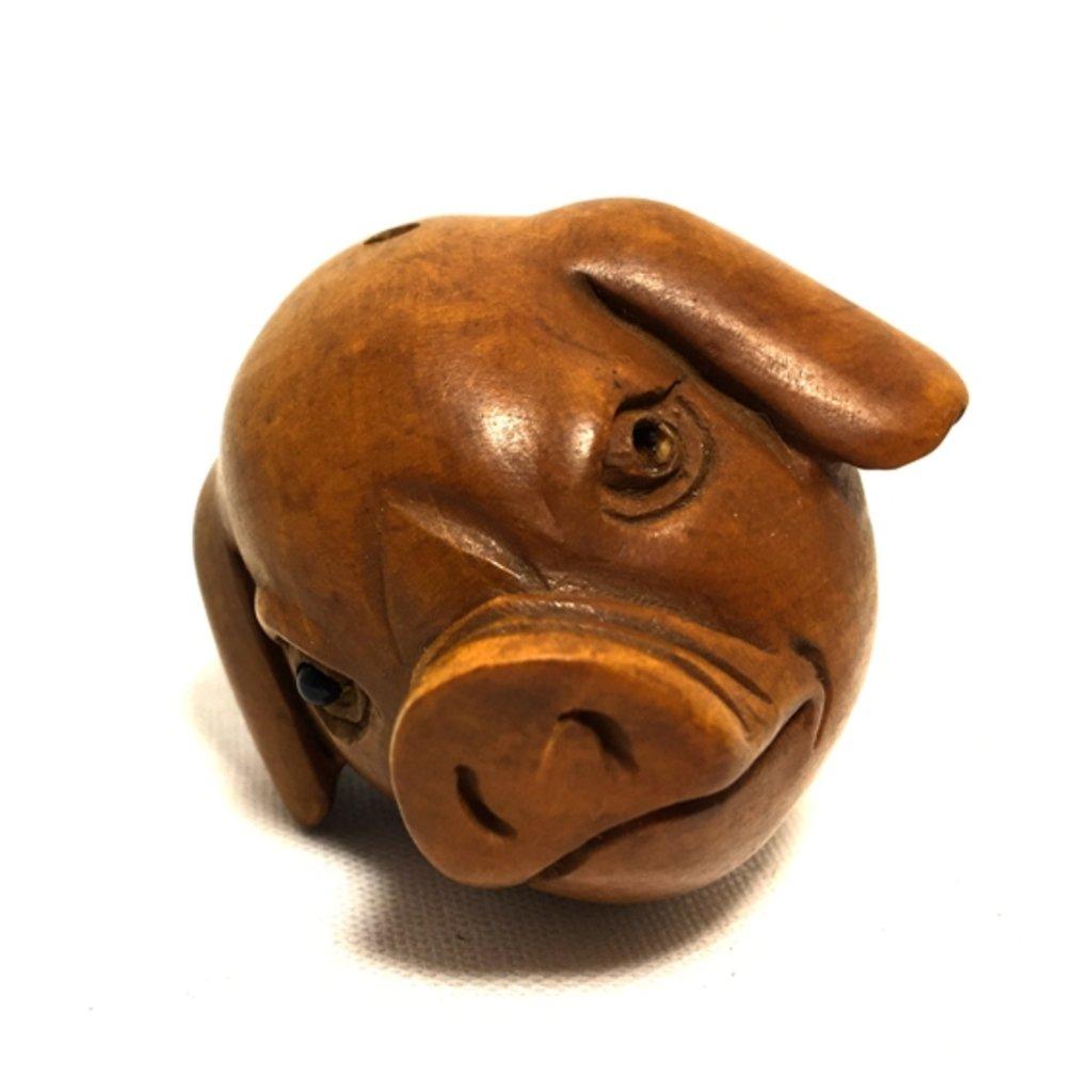 Статуэтки: Свинья (голова) в Шамбала, индийская лавка