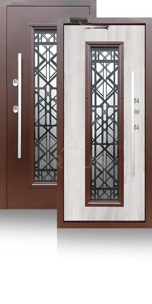 Двери Аргус: ВХОДНАЯ УЛИЧНАЯ ДВЕРЬ С ТЕРМОРАЗРЫВОМ «ТЕПЛО-БРИАН» АРГУС в Двери в Тюмени, межкомнатные двери, входные двери