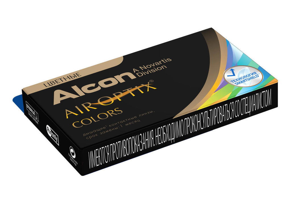 Контактные линзы: Контактные линзы AIR OPTIX COLORS (2шт / 8.6) ALCON в Лорнет