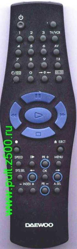 DAEWOO: Пульт DAEWOO 97P04701-A3 (VCR) оригинал в A-Центр Пульты ДУ