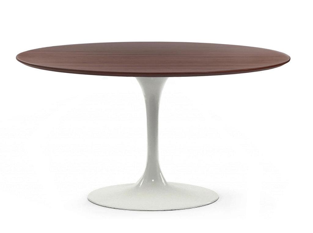 Столы обеденные: Стол обеденный Априори T круглый 120 см 13т орех в Актуальный дизайн