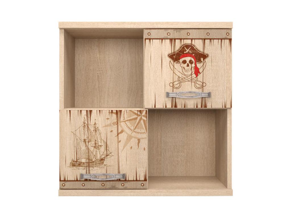 Полки детские: Секция навесная 10 Квест в Стильная мебель