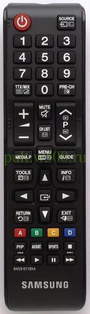 SAMSUNG: Пульт SAMSUNG BN59-01189A мал (LCD PIP) оригинал в A-Центр Пульты ДУ