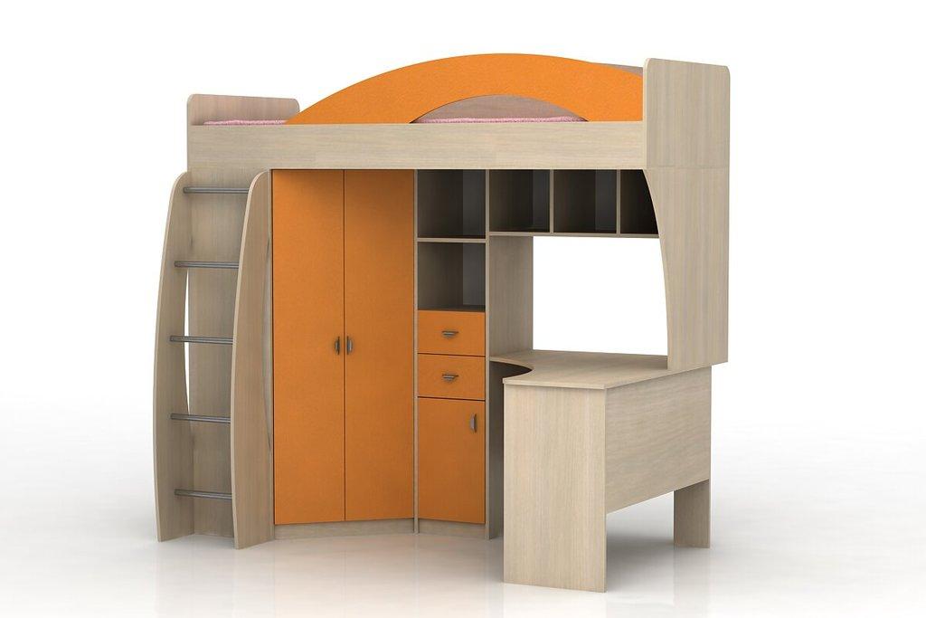 Детские и подростковые кровати: Шкаф-кровать Денди ЛДСП в Стильная мебель