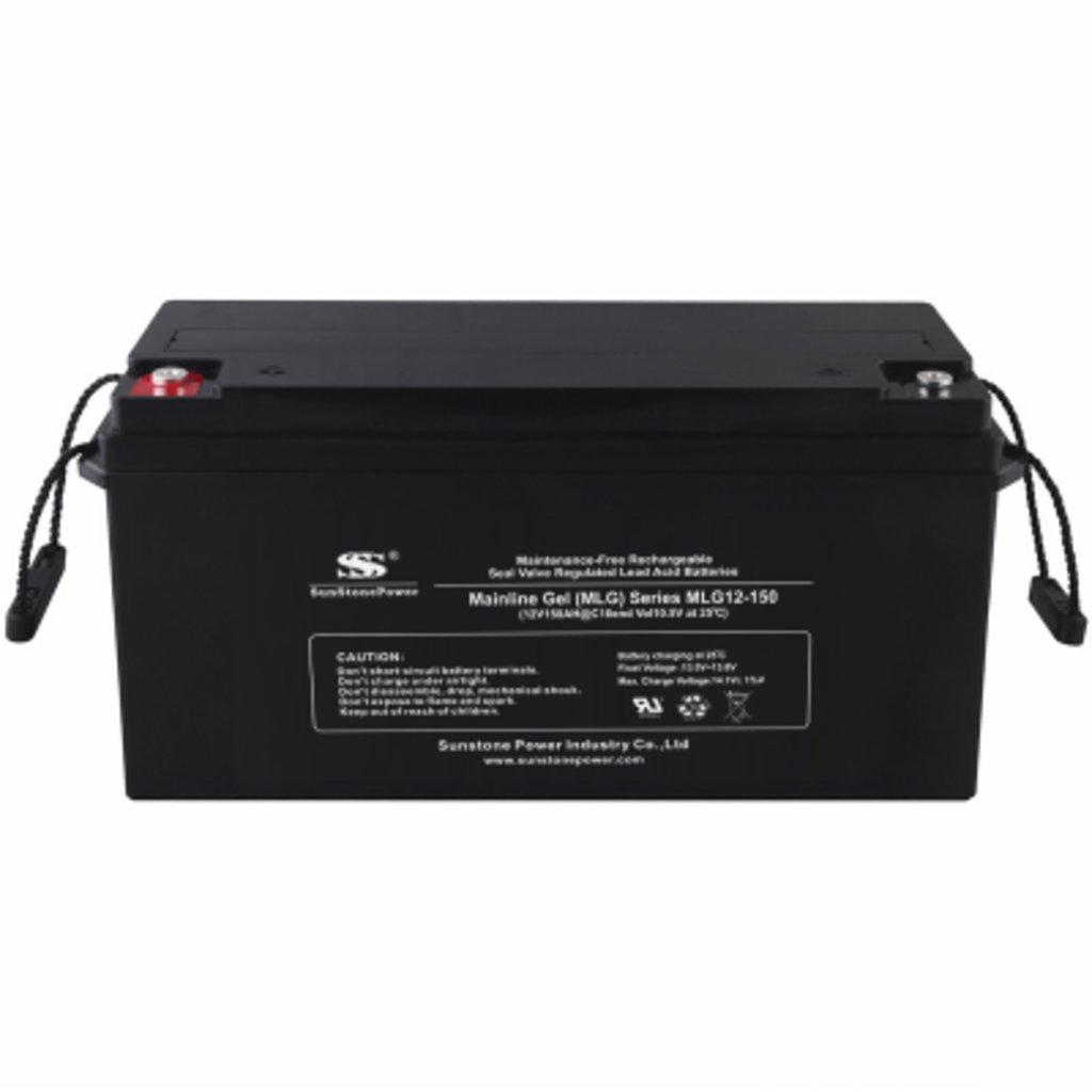Гелевые: Аккумулятор SunStonePower MLG12-150 в Горизонт