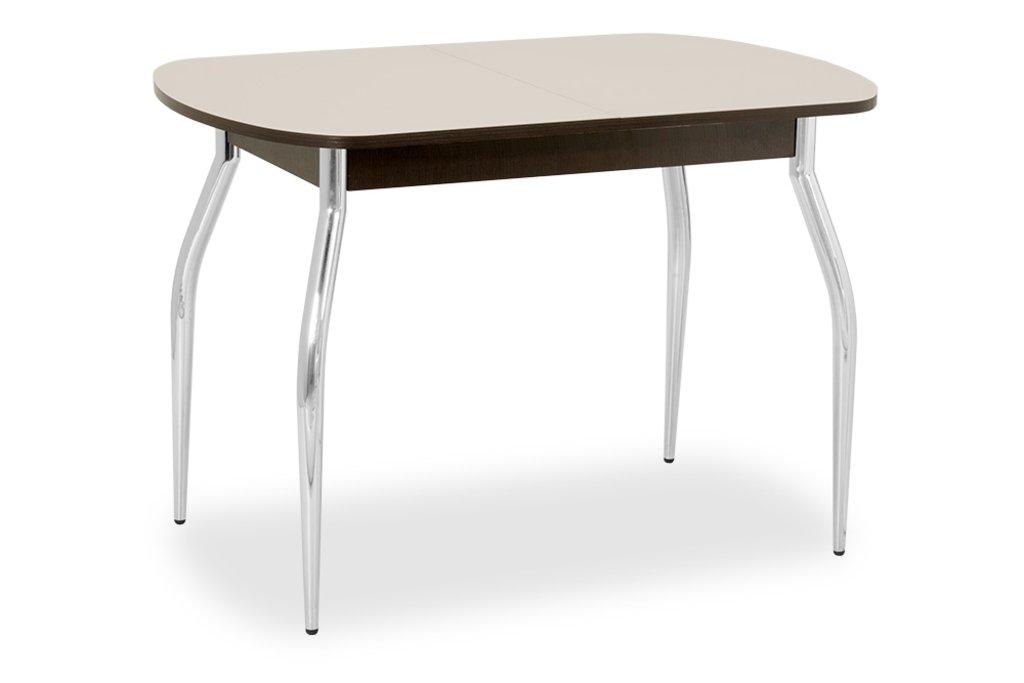 Столы кухонные.: Стол ПГ-01 раздвижной (хром) в АРТ-МЕБЕЛЬ НН