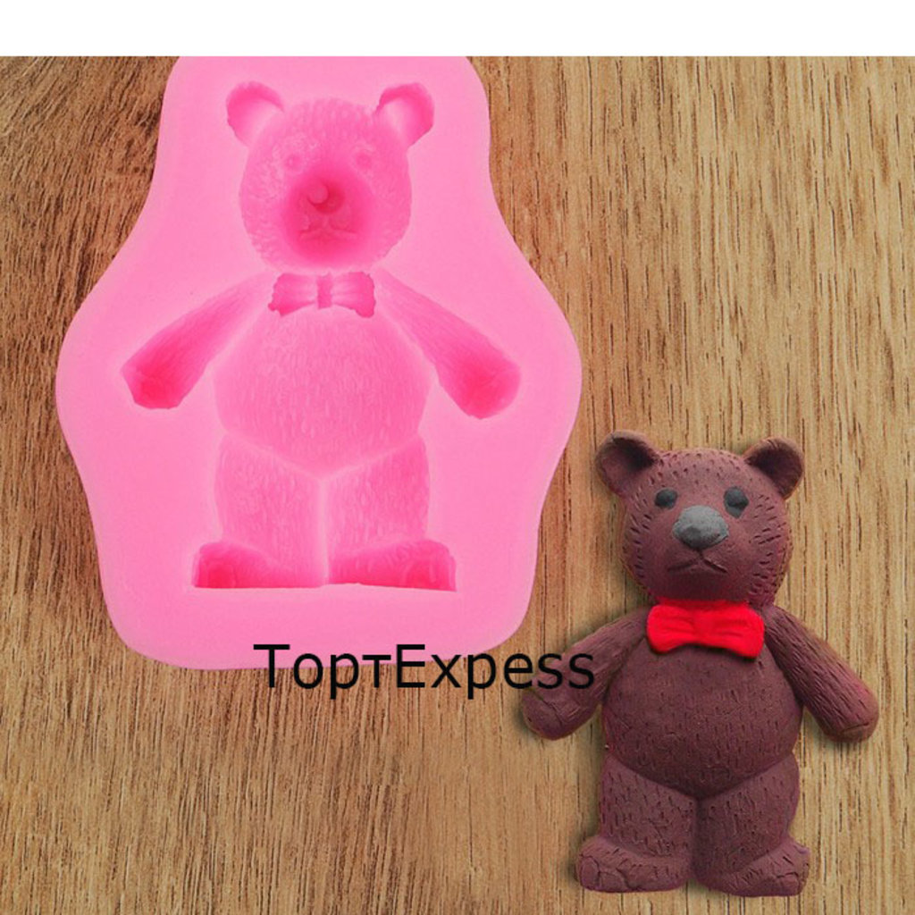 Кондитерский инвентарь: Молд силиконовый Мишка в ТортExpress
