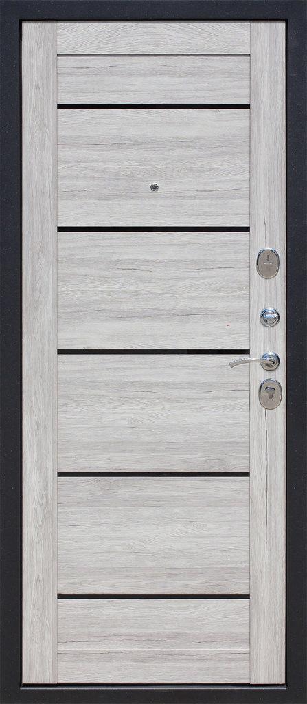 Входные двери (бюджет) от 70-80мм: Входная дверь  НЬЮ-ЙОРК Царга дуб в STEKLOMASTER