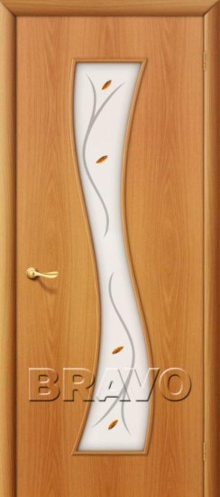 Двери ламинированные BRAVO: 11Ф Л-12 (МиланОрех) в STEKLOMASTER
