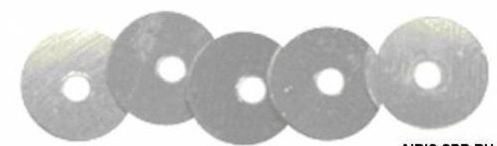 Плоские 6мм.: Пайетки плоские 6мм.упак/10гр.Астра(цвет:1 серебро) в Редиант-НК