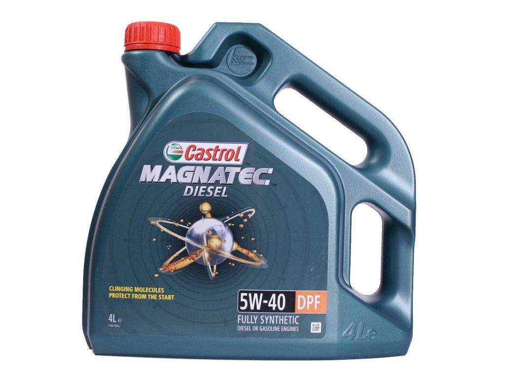 Автомасла Castrol: MAGNATEC Diesel 5W-40 DPF (4.0 л) в Автомасла71