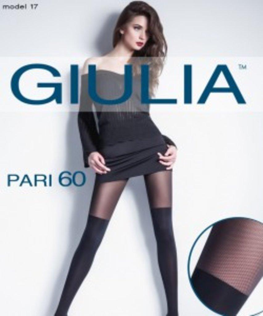 Колготки: Колготки с имитацией ботфорт и сеточки Giulia PARI 17 в Sesso
