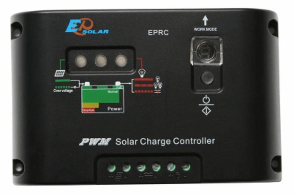 ШИМ контроллеры: Контроллер заряда EPSolar EPRC10-EC в Горизонт