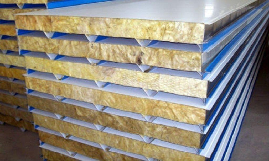 Сэндвич-панели: Стеновые сэндвич-панели с утеплителем из минеральной ваты в Магнит, ООО