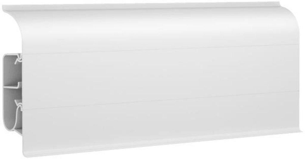 Плинтуса напольные: Плинтус напольный 85  8500 белый в Мир Потолков