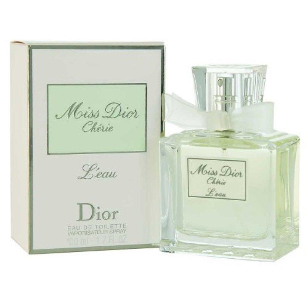 Christian Dior  (Кристиан Диор): Christian Dior Miss Dior Cherie L'Eau ( Кристиан Диор Мисс Диор Чери Лё) 100ml edt в Мой флакон