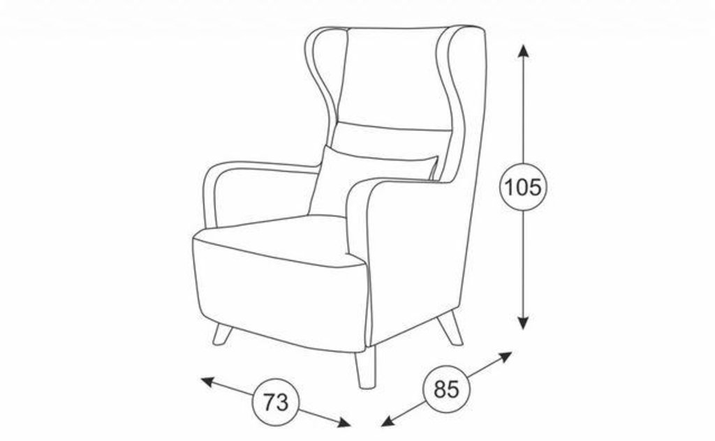 Кресла Меланж: Кресло Меланж ТК 16 в Диван Плюс