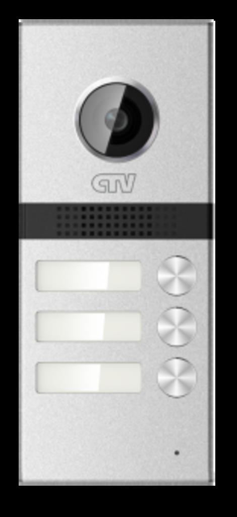 Вызывные панели: Вызывная панель для видеодомофонов на 3 абонента CTV-D3Multi в Микровидео