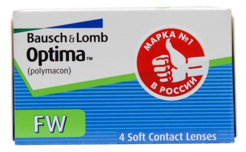 Контактные линзы: Контактные линзы Optima FW (4шт / 8.4) Bausch & Lomb в Лорнет