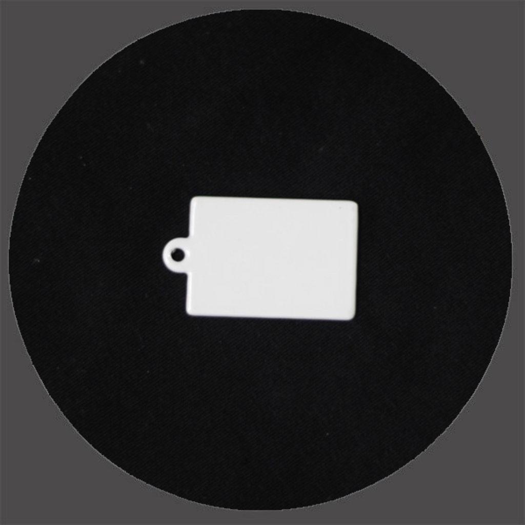 Брелоки: Брелок прямоугольный под сублимацию в NeoPlastic