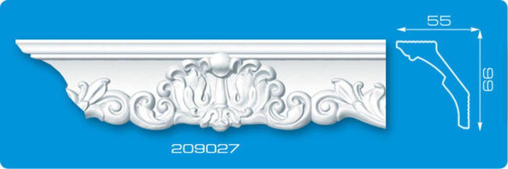 Плинтуса потолочные: Плинтус потолочный ФОРМАТ 209027 инжекционный длина 2м в Мир Потолков