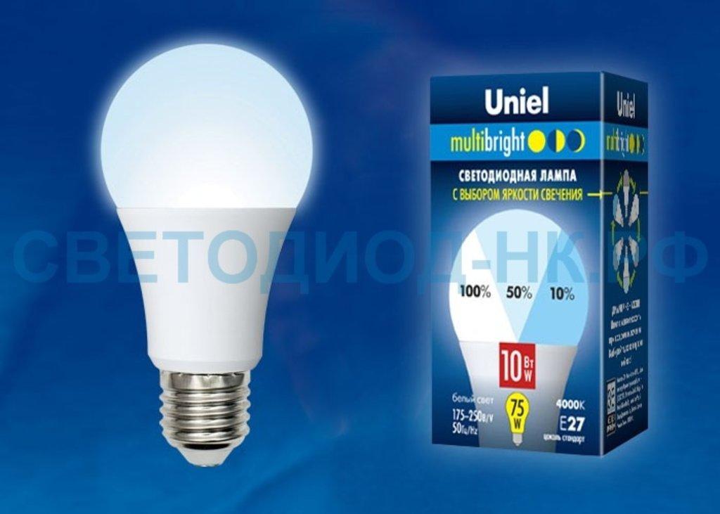 Диммируемые лампы: LED-A60-10W/NW/E27/FR/MB PLM11WH в СВЕТОВОД