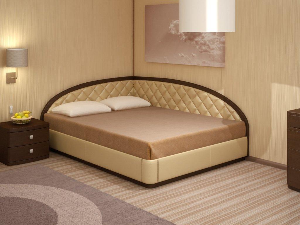 """Кровати: Кровать двуспальная """"Эвита"""" в Амадео"""