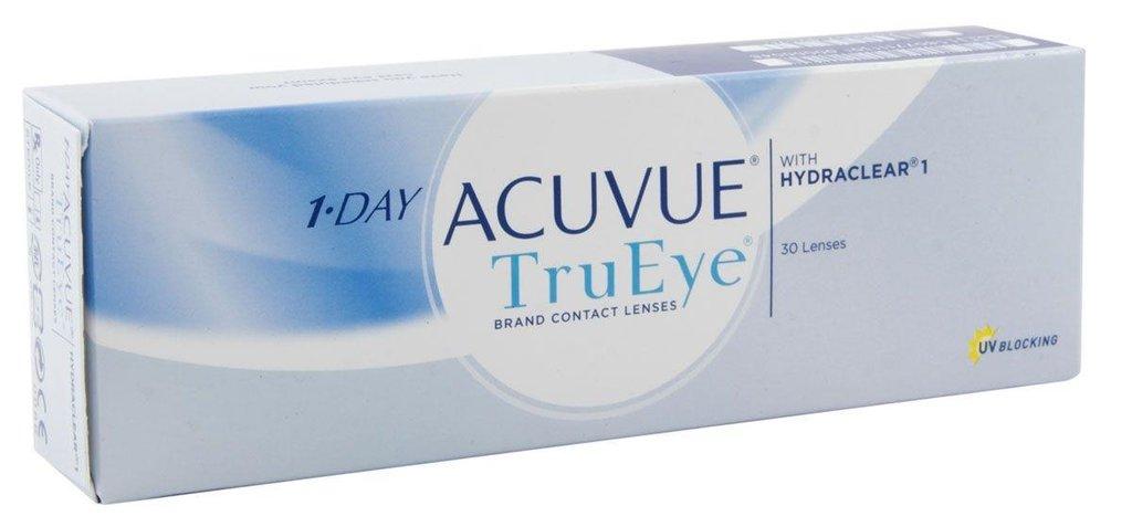Контактные линзы: Контактные линзы 1-Day Acuvue TruEye (30шт / 9.0) Johnson & Johnson в Лорнет