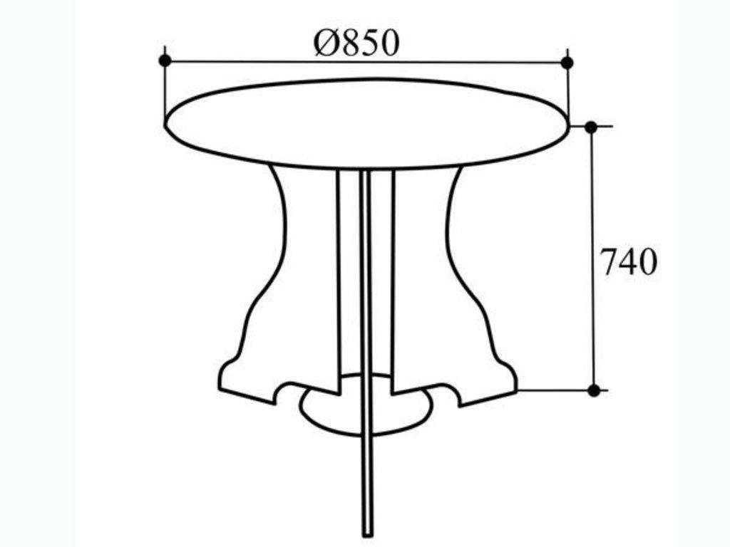 Столы обеденные: Стол обеденный СТ-1 в Уютный дом