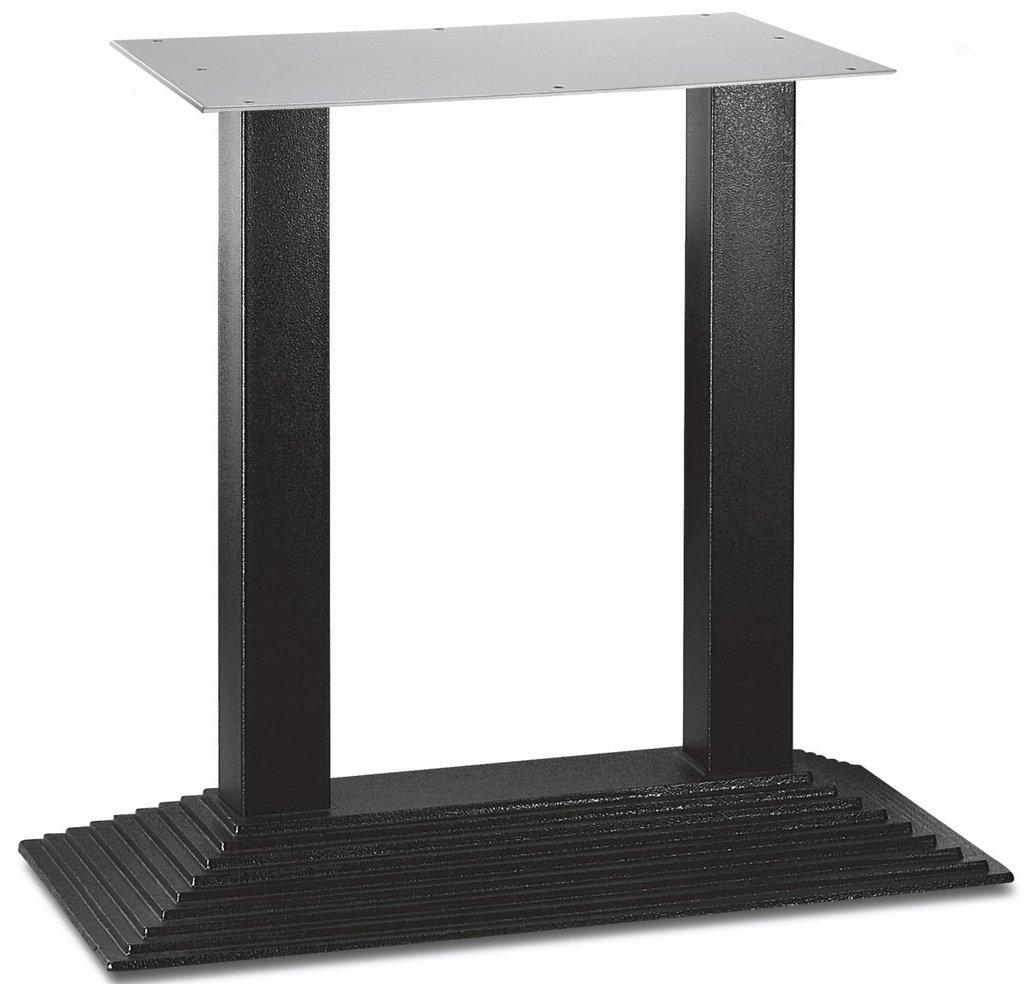 Подстолья для столов.: Подстолье 1208ЕМ (чёрный) в АРТ-МЕБЕЛЬ НН
