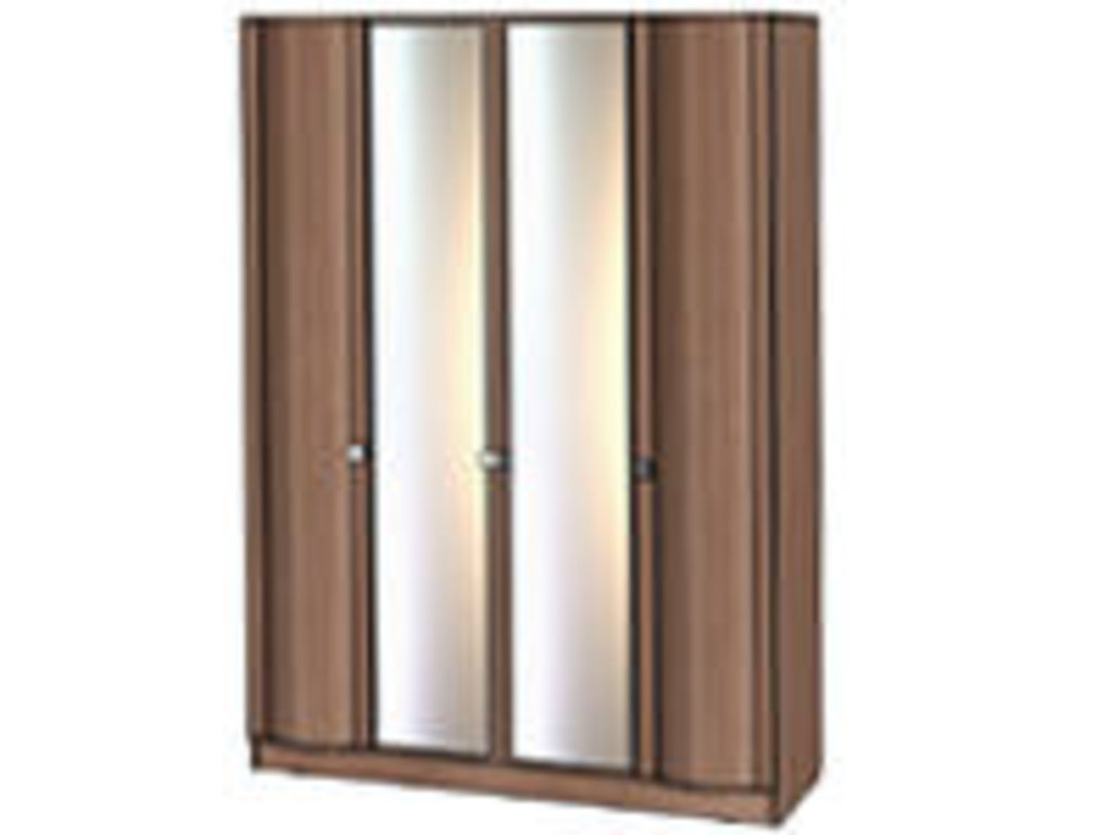 Мебель для спальни Соната. Модульная серия.: Шкаф 4-х створчатый серия Соната в Уютный дом