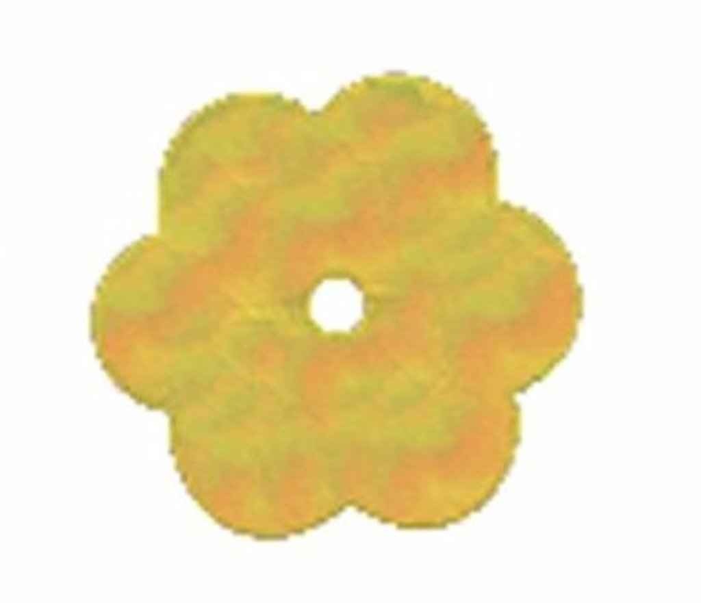 """Цветочки 10мм.: Пайетки""""Цветочки""""10мм.,10гр/упак.Астра(цвет:91 желто-лимонный) в Редиант-НК"""