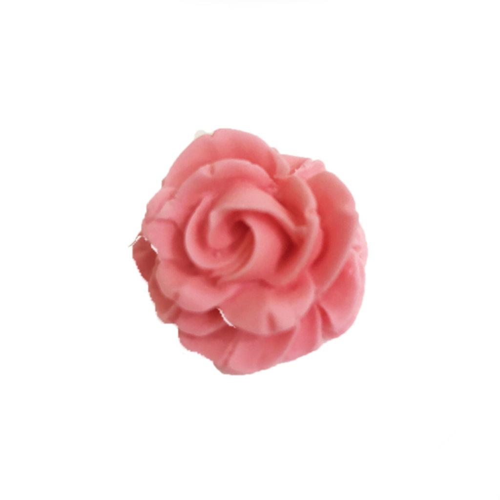 Сахарные украшения: Сахарное украшение РОЗА пастельная розовая в ТортExpress
