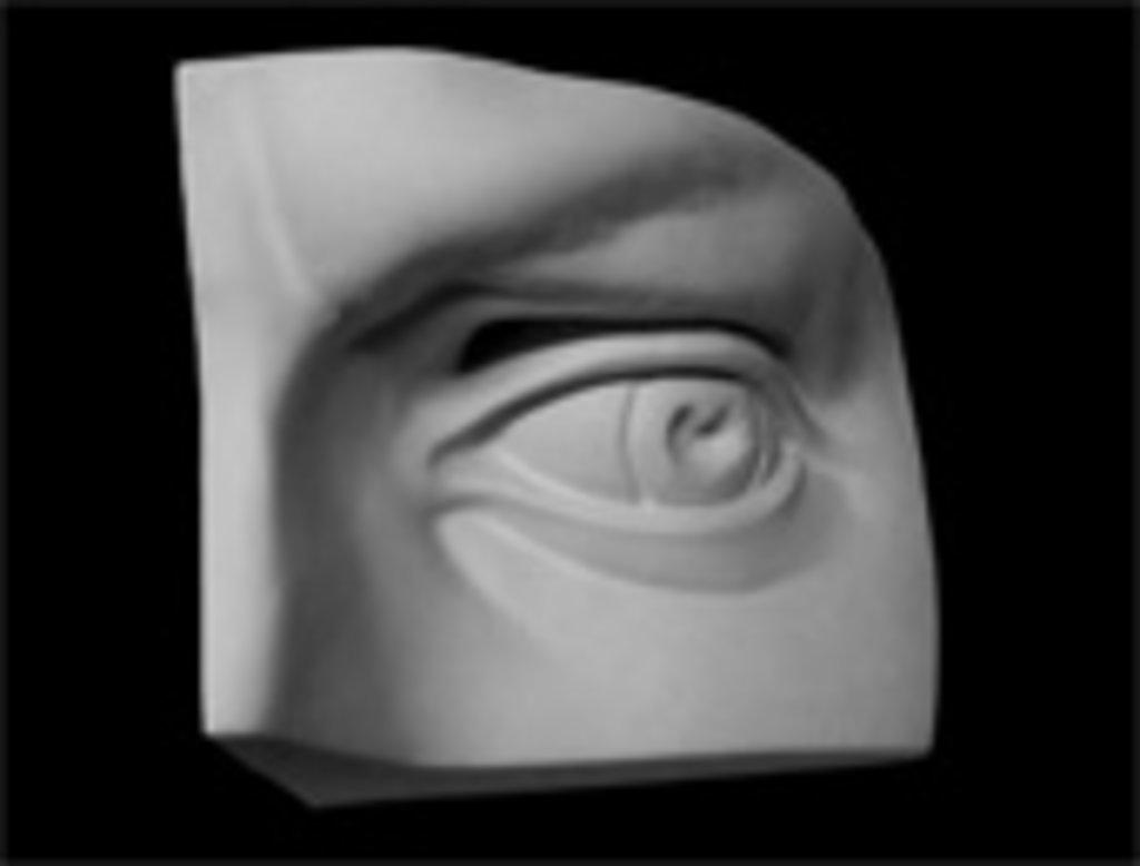 Гипсы: Глаз Давида левый в Шедевр, художественный салон