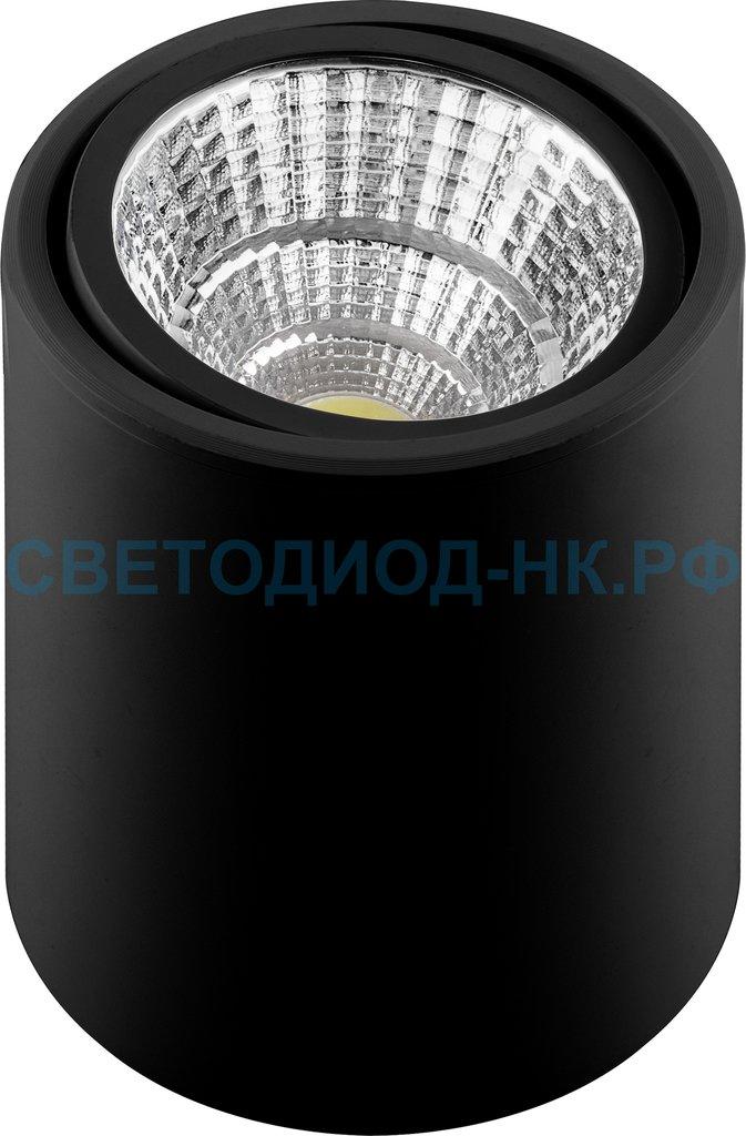 Накладные поворотные светильники: AL516, 15W, 1200Lm, 4000K, черный, поворотный в СВЕТОВОД