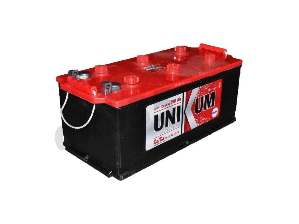 Аккумуляторы: Unikum 6СТ-190 /П.П./ евро полярность в Планета АКБ