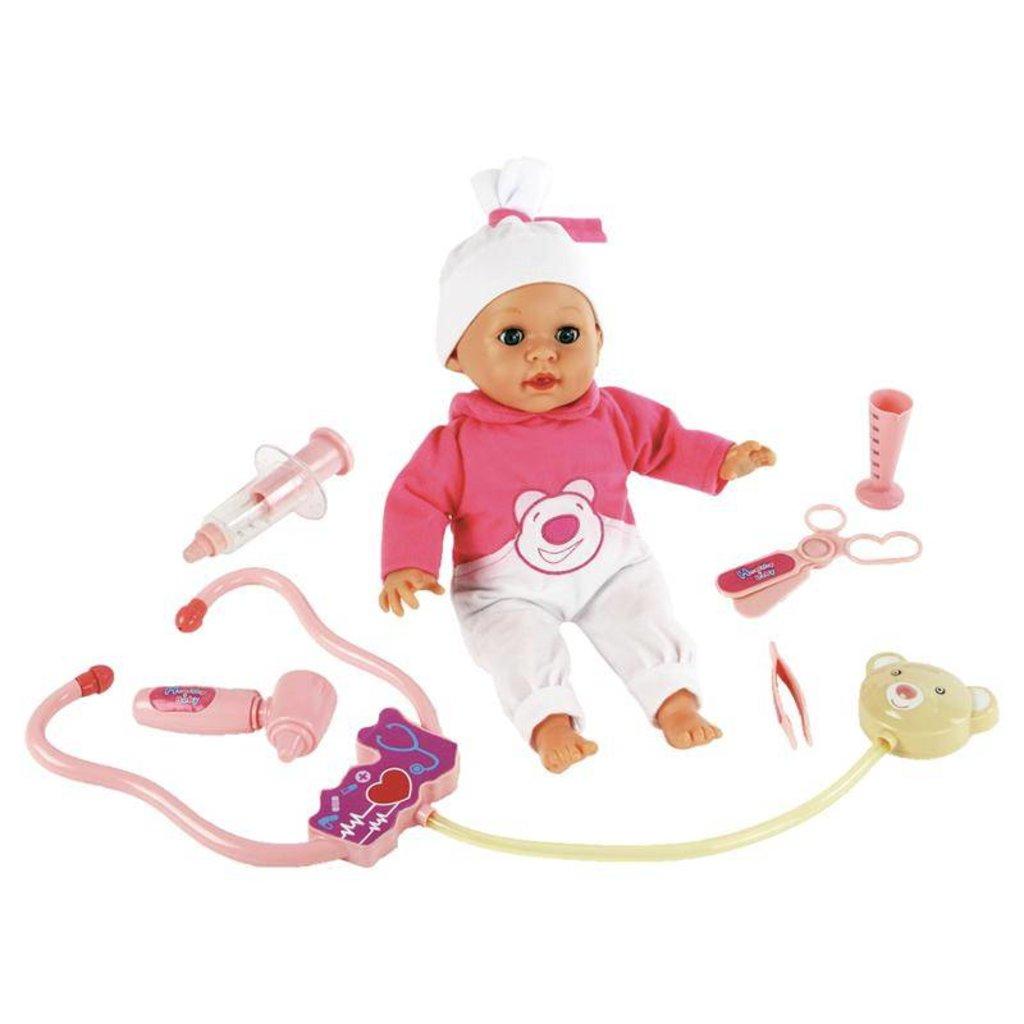 Игрушки для девочек: Кукла интерактивная 38см Варя Вылечи меня! Mary Poppins в Игрушки Сити