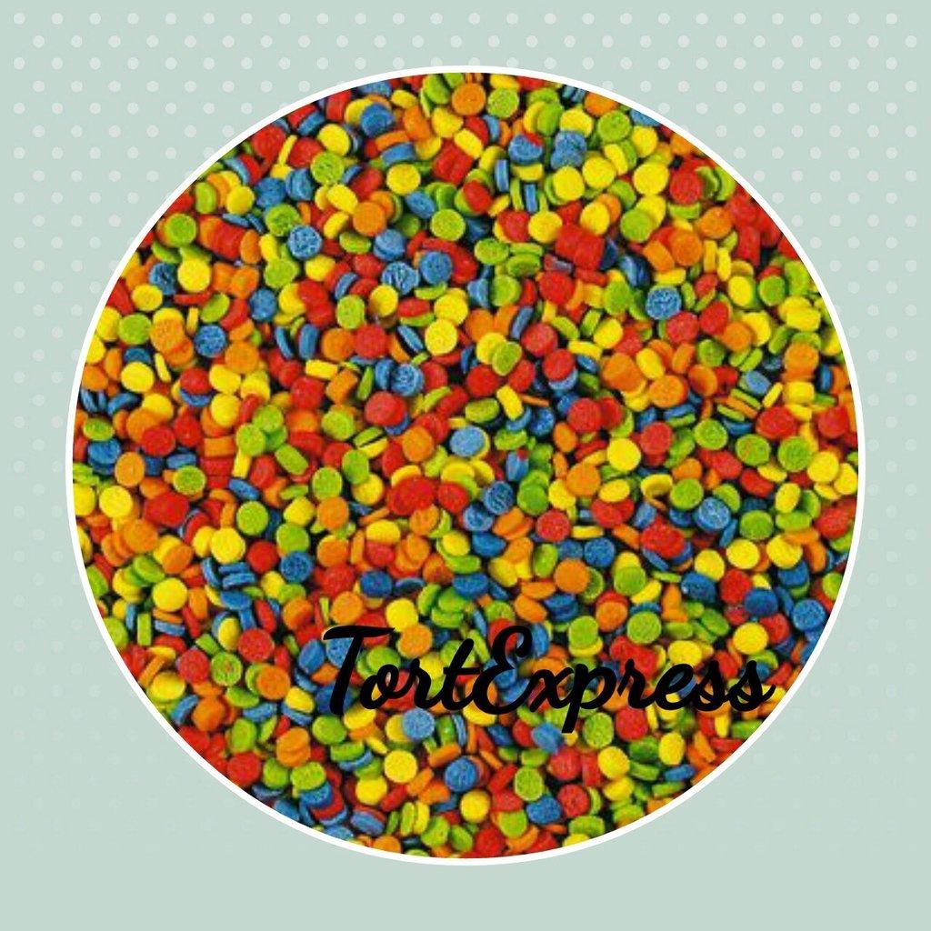 Посыпки декоративные: Посыпка сахарная Конфетти(мини) в ТортExpress