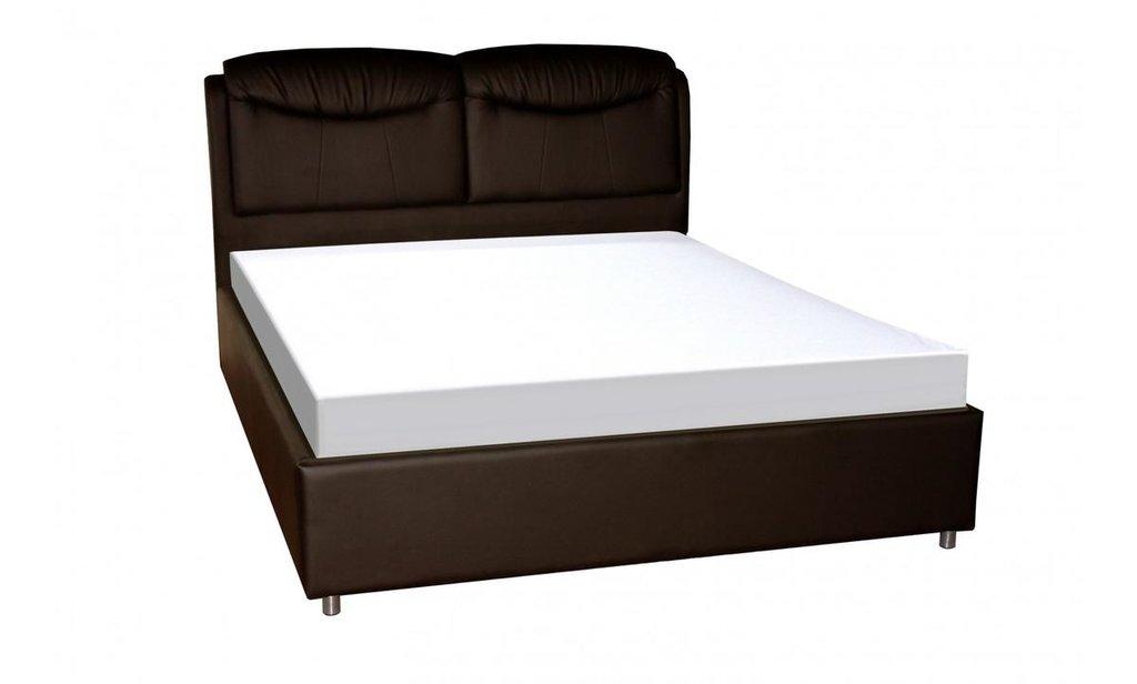 Кровати: Кровать двойная из экокожи Бавария в Уютный дом