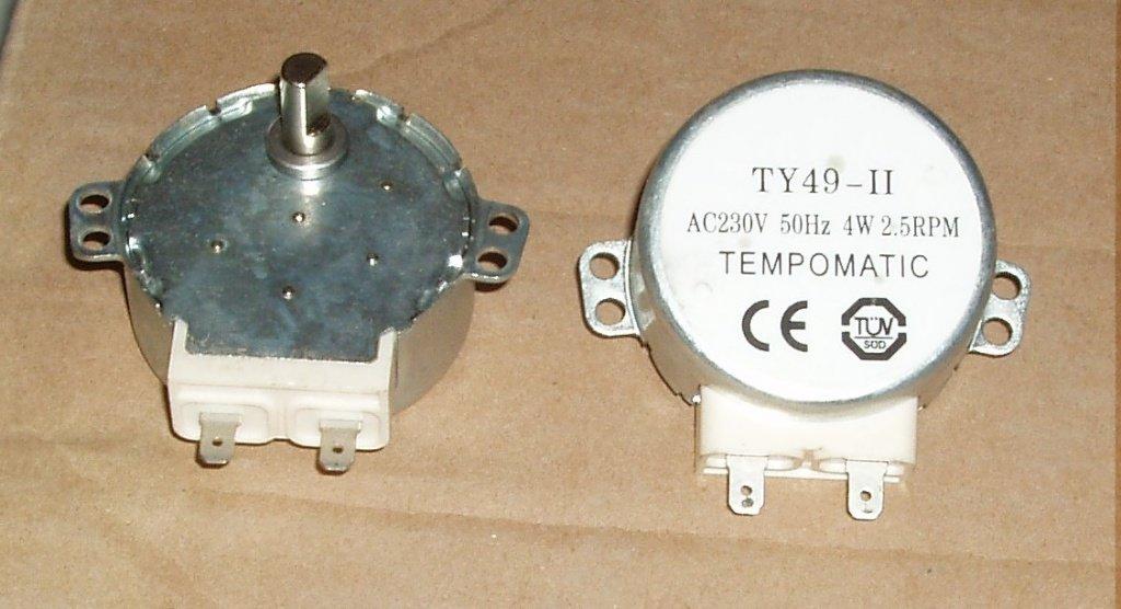 Запчасти для микроволновых СВЧ-печей: Мотор вращения тарелки СВЧ AC220V, 4W, 5rpm, H=8мм, 49TYZ-A2, MCW501UN, CU0704, MA0913W в АНС ПРОЕКТ, ООО, Сервисный центр