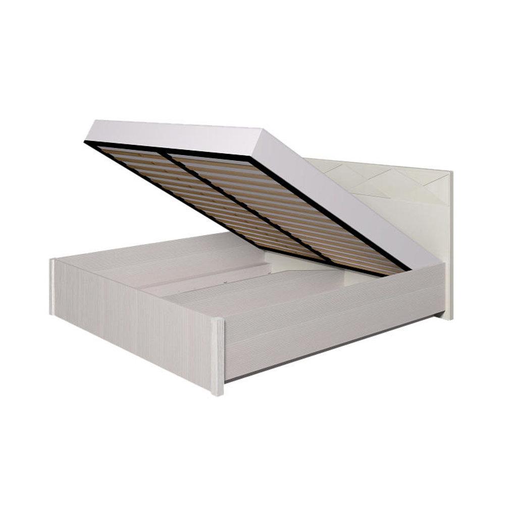 Кровати: Кровать Люкс Бриз 36.2 (1800, мех. подъема) в Стильная мебель